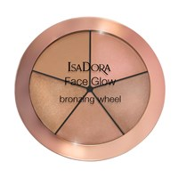 IsaDora Face Glow Bronzing Wheel 18g Beach glow no. 52