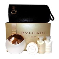 Bvlgari Aqva Divina edt 65ml + 40ml shower gel + 40ml body lotion + sapun + kozmetička torbica SET