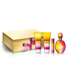 Missoni eau de toilette 100ml + 100ml body lotion + 100ml shower gel + 10ml edt SET