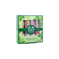 The Body Shop Handcare Collection 2x30ml Wild Rose Hand Cream + 2x30ml Almond Hand & Nail Cream  SET