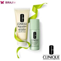 Clinique Take Comfort SET  Antiperspirant Roll-On Deodorant 75ml /Body Lotion Deep Comfort Body Lotion 100ml